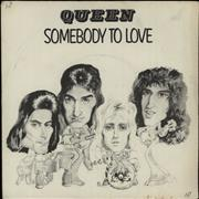 Click here for more info about 'Queen - Somebody To Love + P/S - EX'
