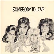 Click here for more info about 'Somebody To Love - P/S - EX'