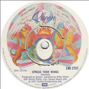 "Queen Spread Your Wings UK 7"" vinyl"