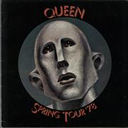 Click here for more info about 'Queen - Spring Tour '78 - Ex'