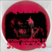 "Queen Stormtroopers In Stilettos - Pink Vinyl USA 7"" vinyl"