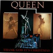 Click here for more info about 'Queen - Thank God It's Christmas - EX'