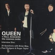 Click here for more info about 'Queen - The Cosmos Rocks - Interview Disc'