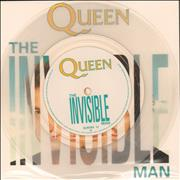 Click here for more info about 'Queen - The Invisible Man - Clear Vinyl + Insert'