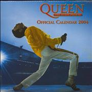 Click here for more info about 'Queen - The Magic Tour '86 - Official Calendar 2004 - Lot of TEN'
