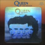 Click here for more info about 'Queen - The Miracle - Hologram Sleeve + Injection Label'