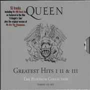 Click here for more info about 'Queen - The Platinum Collection - Hype-Stickered'