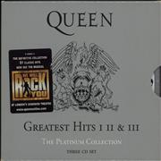 Click here for more info about 'Queen - The Platinum Collection - stickered case'
