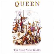 Click here for more info about 'Queen - The Show Must Go On - Etched'