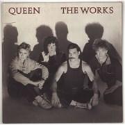 Queen The Works - EX UK vinyl LP
