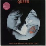 Click here for more info about 'Queen - Too Much Love Will Kill You - Pink Vinyl'