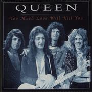 Queen Too Much Love Will Kill You - Box + CD UK box set