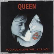 Click here for more info about 'Queen - Too Much Love Will Kill You'