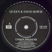 Click here for more info about 'Queen - Under Pressure - 4pr'