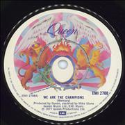 Click here for more info about 'Queen - We Are The Champions - 4pr'