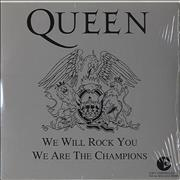 Click here for more info about 'We Will Rock You / We Are The Champions - Silver Sleeve'