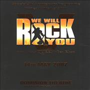 Click here for more info about 'Queen - We Will Rock You - 2000 Only Anniversary Programme'