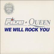 Click here for more info about 'Queen - We Will Rock You - with Five'
