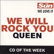 Click here for more info about 'Queen - We Will Rock You'