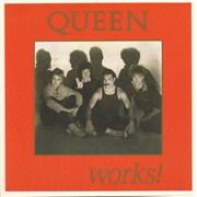 Queen Works + Pass & 2 Badges UK tour programme
