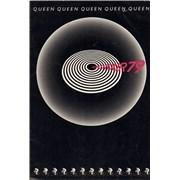Queen World Tour 79 + 2 badges UK tour programme
