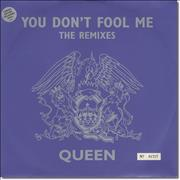 "Queen You Don't Fool Me - Grey Vinyl UK 12"" vinyl"