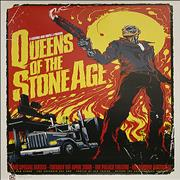 Click here for more info about 'Queens Of The Stone Age - Australian Tour Poster [Melbourne]'