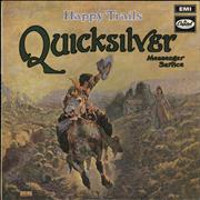 Click here for more info about 'Quicksilver Messenger Service - Happy Trails - Green Label - VG'