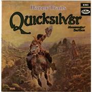 Quicksilver Messenger Service Happy Trails UK vinyl LP