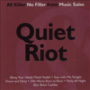 Click here for more info about 'Quiet Riot - All Killer No Filler'