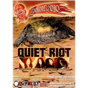 Click here for more info about 'Quiet Riot - Concert Poster - Marzo 20 - Palacio De Los Deportes'