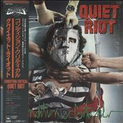 Click here for more info about 'Quiet Riot - Condition Critical + Poster'
