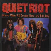 Click here for more info about 'Quiet Riot - Mama Weer All Crazee Now'