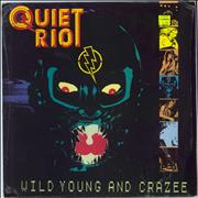 Click here for more info about 'Quiet Riot - Wild Young And Crazee'