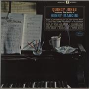 Click here for more info about 'Quincy Jones - Quincy Jones Explores The Music Of Henry Mancini'