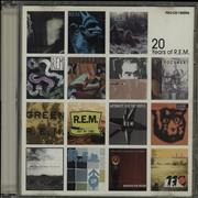 REM 20 Years Of REM USA CD album Promo