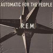 REM Automatic For The People UK vinyl LP