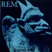 Click here for more info about 'REM - Chronic Town EP - Blue Vinyl'