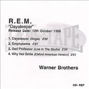 Click here for more info about 'REM - Daysleeper - 4-track'
