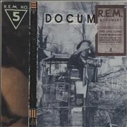 REM Document USA vinyl LP