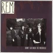 Click here for more info about 'REM - (Don't Go Back To) Rockville - EX'