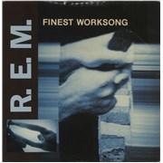 """REM Finest Worksong - EX UK 7"""" vinyl"""