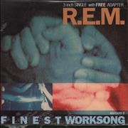 Click here for more info about 'REM - Finest Worksong - Sealed'