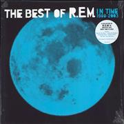 Click here for more info about 'REM - In Time: The Best Of R.E.M. 1988-2003 - 180gm Blue Vinyl - Sealed'