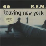 "REM Leaving New York UK 7"" picture disc"