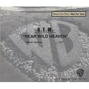 REM Near Wild Heaven USA CD single Promo