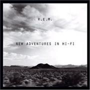 REM New Adventures In Hi Fi UK 2-disc CD/DVD set