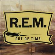 REM Out Of Time - EX UK vinyl LP