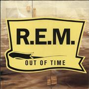 REM Out Of Time - VG UK vinyl LP
