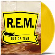 Click here for more info about 'REM - Out Of Time - Yellow Vinyl - Sealed'